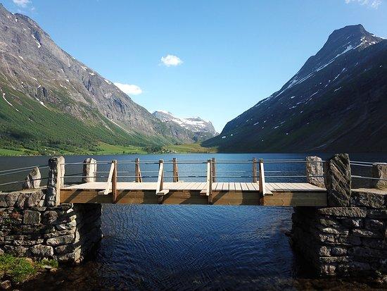 Eidsdal, Norway: Eidsvatnet