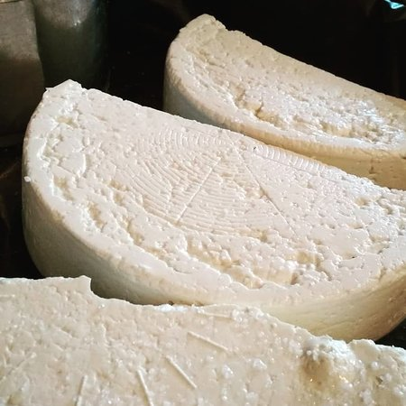 Avli: Our homemade feta cheese :)
