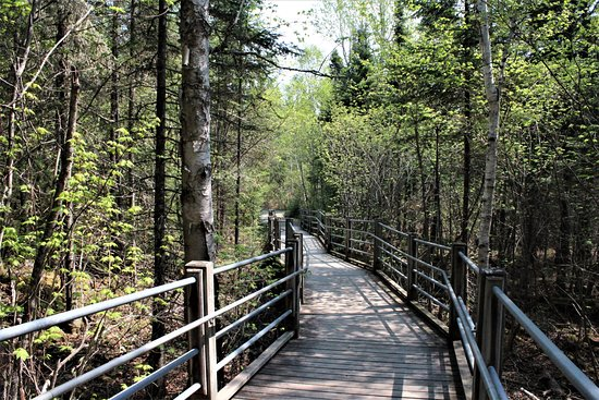 Grand Portage State Park: boardwalk