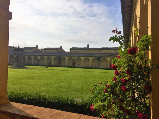 Certosa Di Pontignano: Innenhof