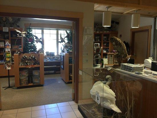Galena Creek Regional Park: information desk and gift shop