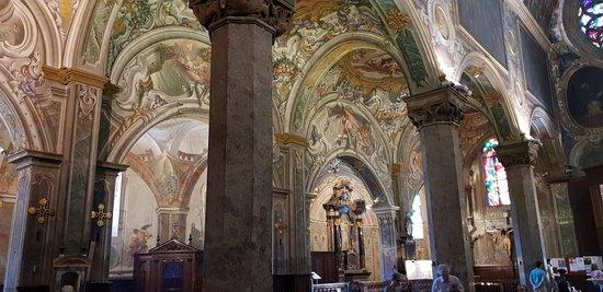 Navata sinistra Duomo di Monza