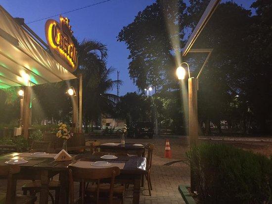 Restaurante Castelli: Área externa