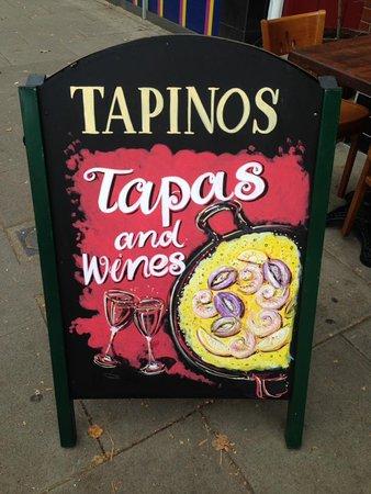 Tapinos: Restaurant Logo
