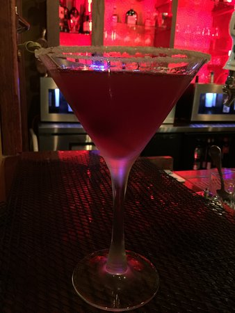 Prohibition Bistro: Pomegranate Martini