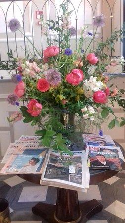 Arreglo Floral Que Da La Bienvenida Picture Of Relais