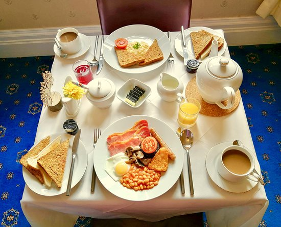 Forest Side Guesthouse : Full English Breakfast