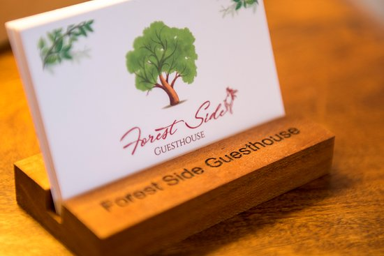 Forest Side Guesthouse: Business Card