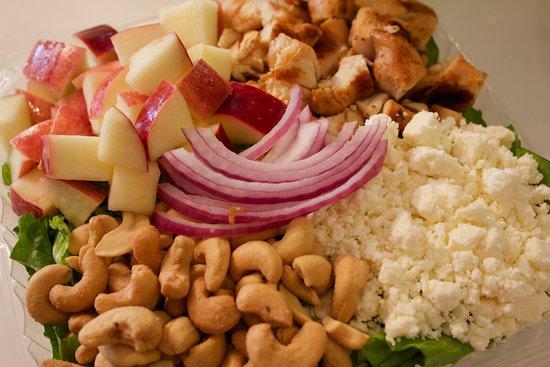 Larry Bruces Gardens: Cranberry Apple Salad