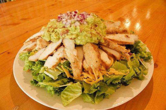 Larry Bruces Gardens: Southwest Guacamole Salad
