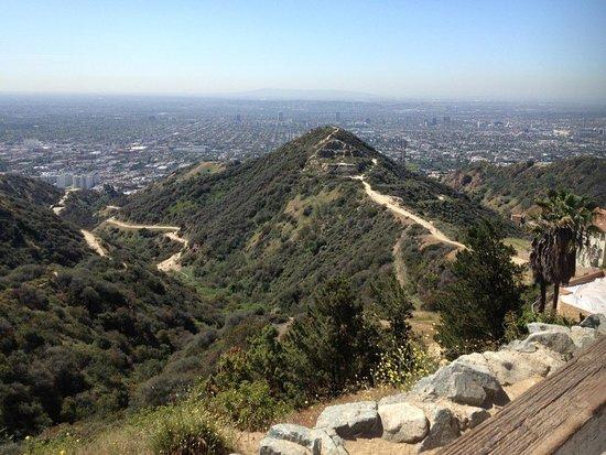 South Pasadena, Калифорния: Runyon Canyon Hike