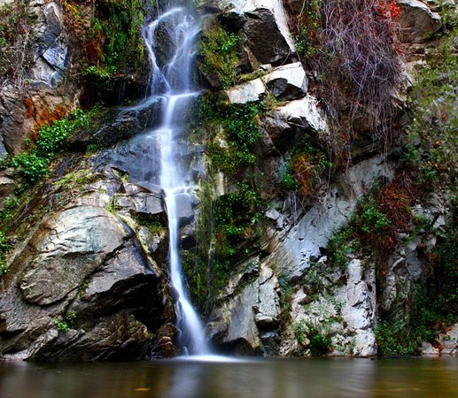 South Pasadena, Калифорния: Hike to falls