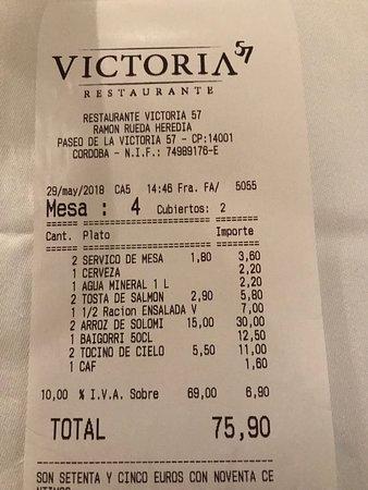 Victoria 57 Restaurante: restaurante victoria 57