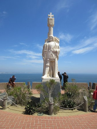 Cabrillo National Monument: View from walking up to the monument