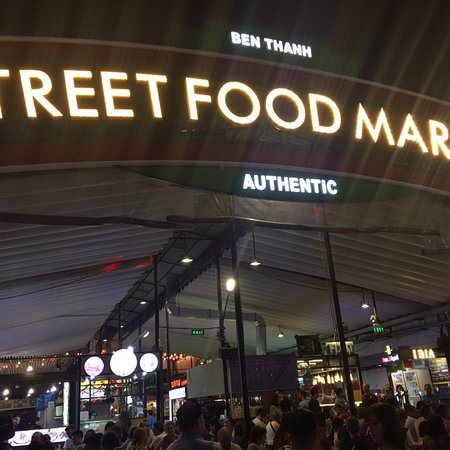 Benthanh Street Food Market: Nhiều đồ ăn