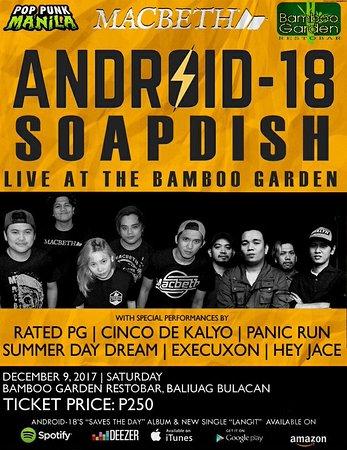 Bamboo Garden Restobar: Android 18 Event