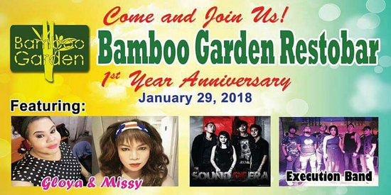 Bamboo Garden Restobar: Comedy shows