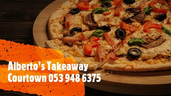 Courtown, İrlanda: Alberto's Takeaway