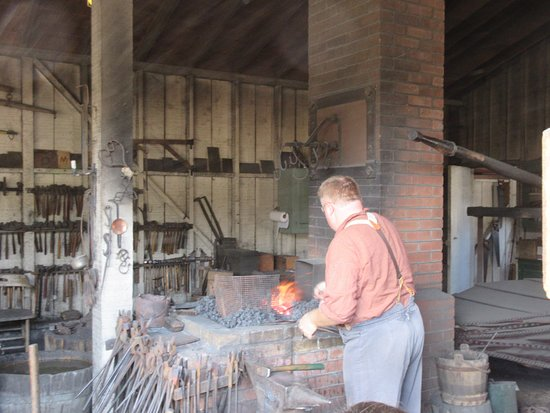 Old Town San Diego State Historic Park: Free forging demonstrations