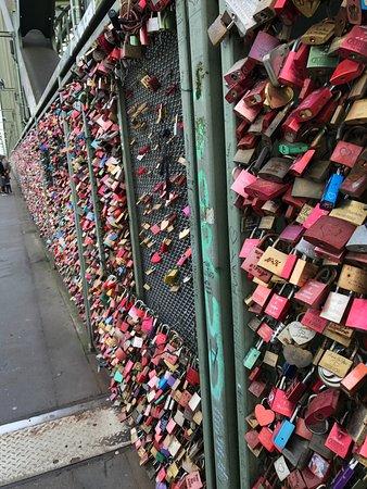 Hohenzollern Bridge: Love Locks on the Bridge