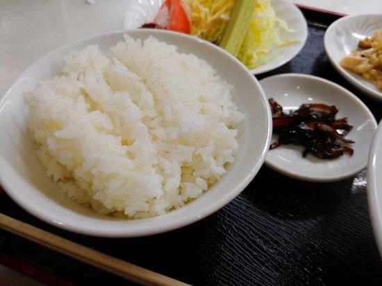 Sanju: 白ご飯。