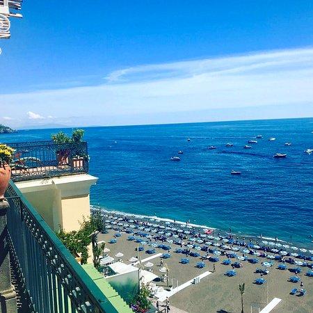 Hotel Buca di Bacco: Terrace View to the Mediterranean