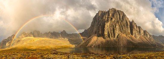 Carcross, Yukon on shores of Bennett Lake