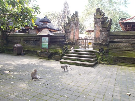 Sacred Monkey Forest Sanctuary: Outside one of the small temples in the Forest
