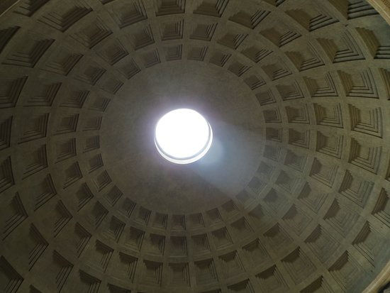 Pantheon (Rome): Ah, the Light from the Dome....