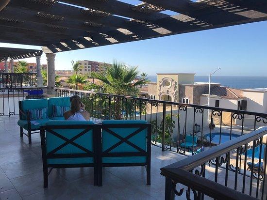 The Residences at Hacienda Encantada: The Residences - terrace on main floor