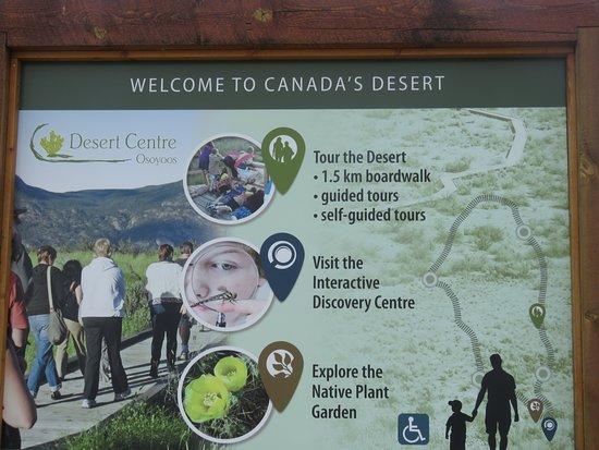 Desert Centre: Great signs