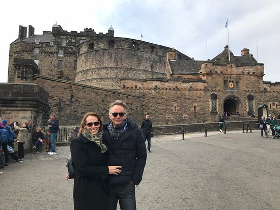 Holohans At The Barge: La pareja en Edimburgo