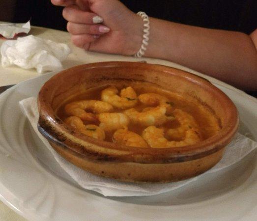 Restaurante La Solera: great prawns