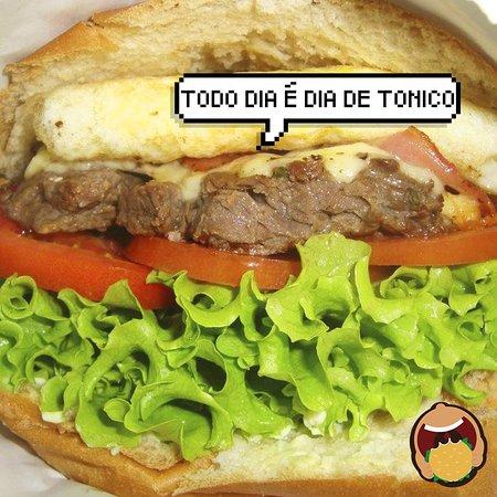 Tonico Lanches: De segunda a sábado, almoço ou jantar, Tonico é o teu lugar.