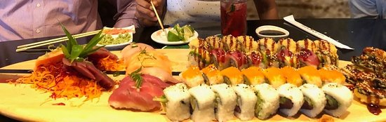 Tsunami Sushi Escazu: La Tabla