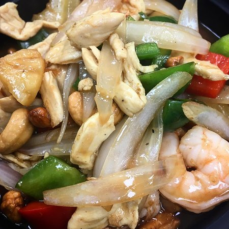 Boiling Springs, SC: Thai Now Cashew with chicken