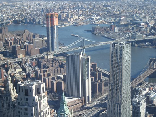 One World Observatory - Looking Toward East River