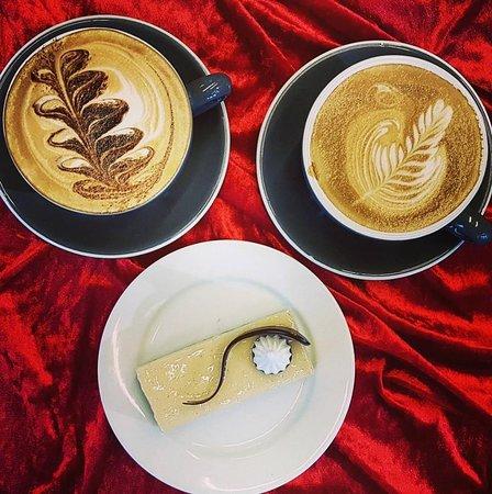 Rangiora, Nueva Zelanda: Coffee and slice