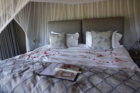 Kambaku River Sands: Incredibly comfortable bed