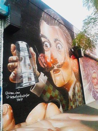 Bushwick Collective Street Art照片