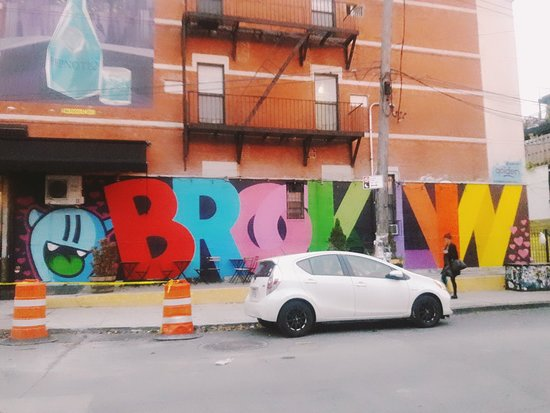 Bushwick Collective Street Art照片