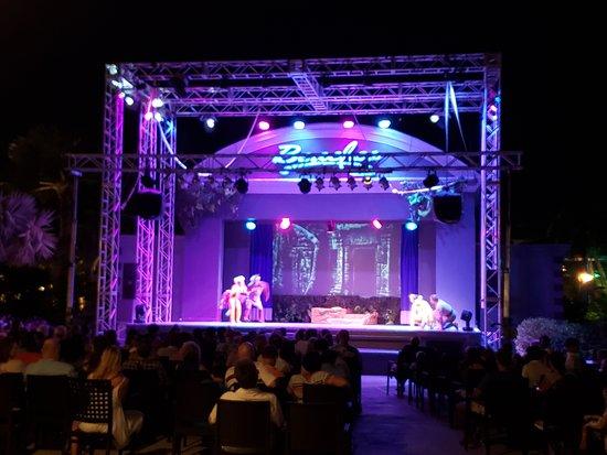 Beaches Turks & Caicos Resort Villages & Spa: French Village Stage