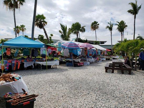 Beaches Turks & Caicos Resort Villages & Spa: Vendor tents