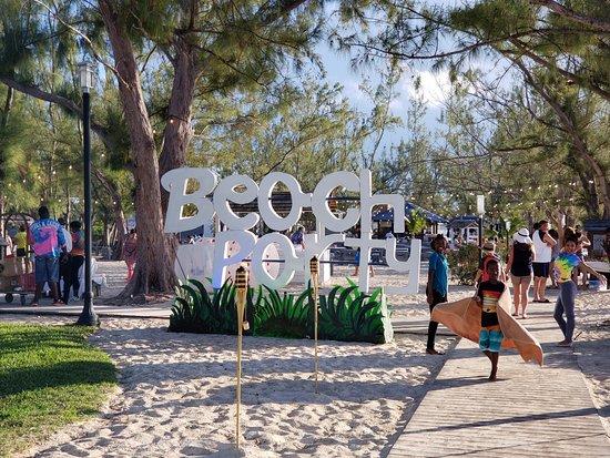 Beaches Turks & Caicos Resort Villages & Spa: Beach Party