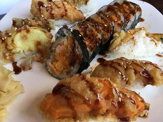 Little Tokyo: Veggie sushi platter