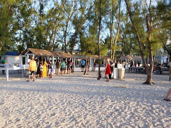 Beaches Turks & Caicos Resort Villages & Spa: Beach Party Buffet