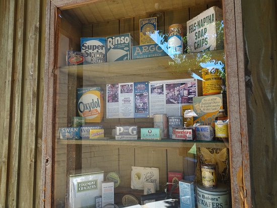All The Old Time Products Some On Display Outside Picture Of