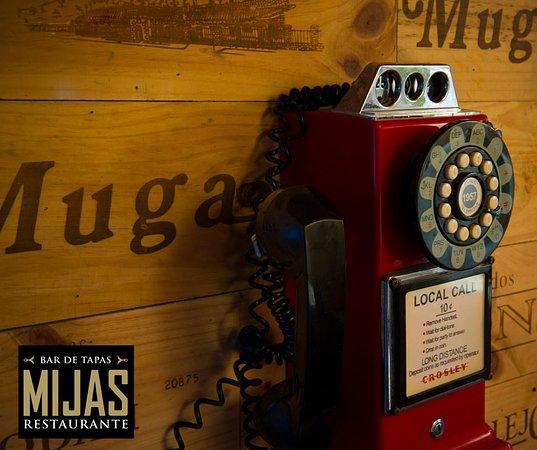 Mijas Restaurante: En Mijas también consideramos los detalles. Details are important to us.