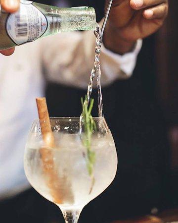 Mijas Restaurante: Afternoon's relief! Gin Tonic. @Mijasrd #mijasrest