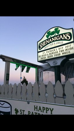 Shenanigan's: Join us on St. Patrick's Day!